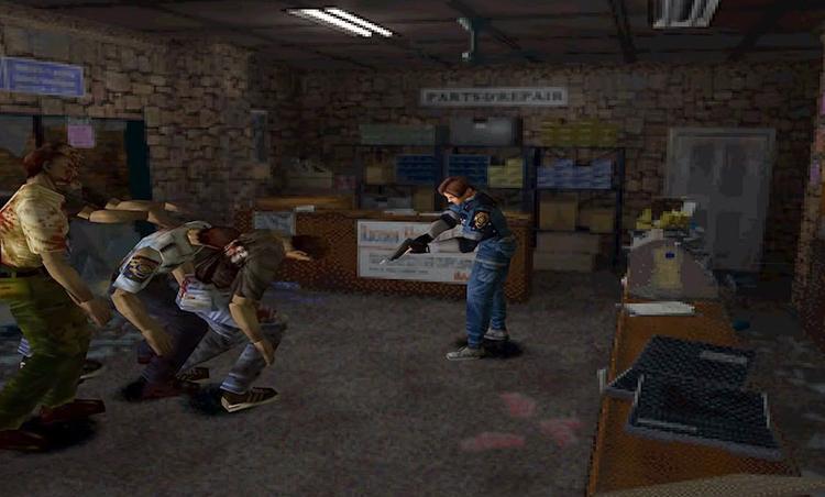 Игра в Resident Evil 2