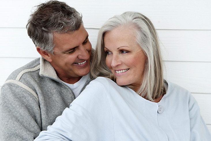Счастливая пара за 50