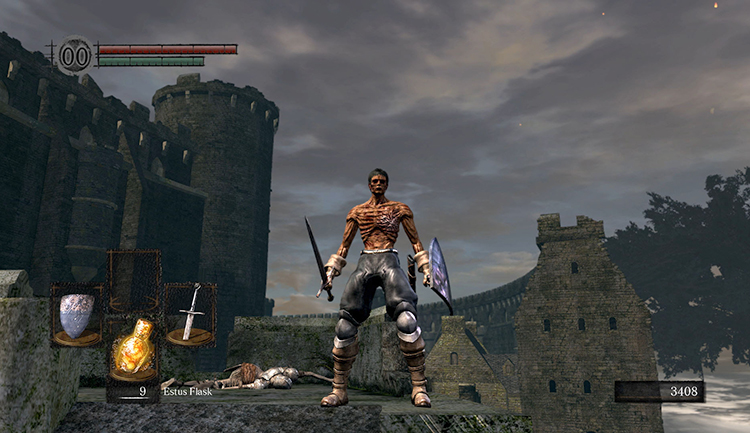В игре «Dark Souls Remastered»
