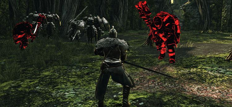 Сражение в игре Dark Souls 2