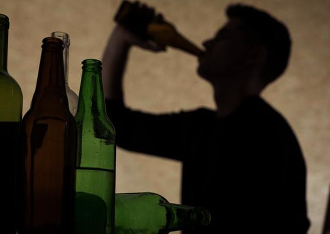 Сын алкоголик