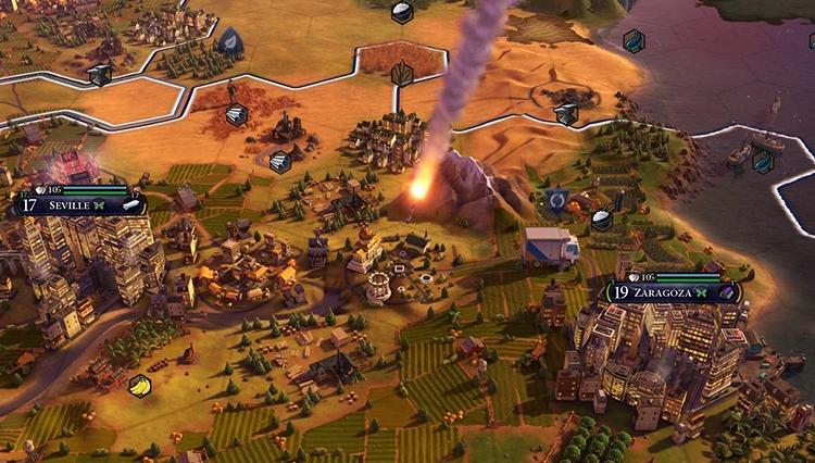 Атака в Civilization 6