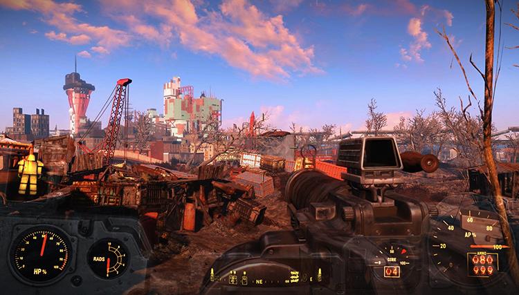 Игра в Fallout 4