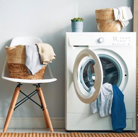 Горизонтальная стиральная машина