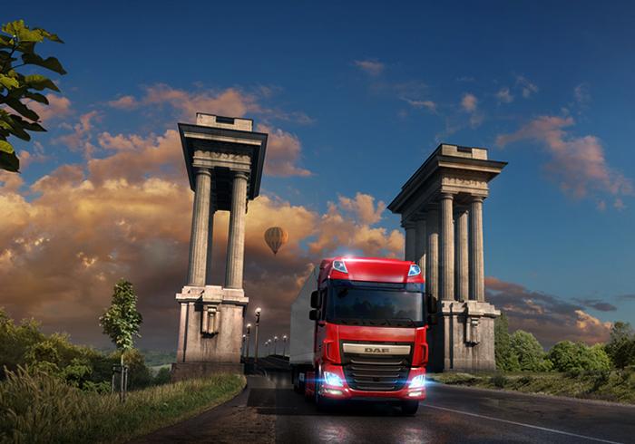 Грузовой автомобиль в Euro Truck Simulator 2