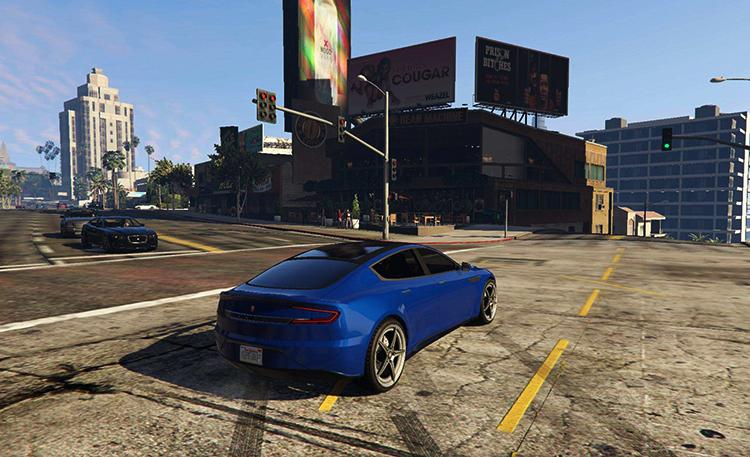Автомобиль в игре GTA Online