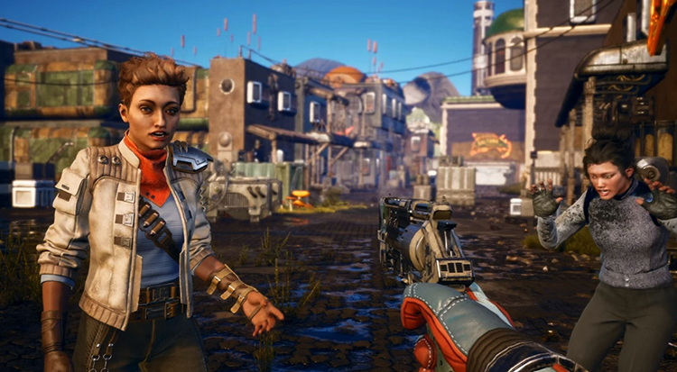 Игра в The Outer Worlds