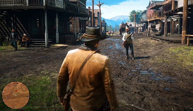 Игра в Red Dead Redemption 2