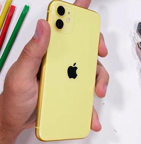 Вид iPhone 11