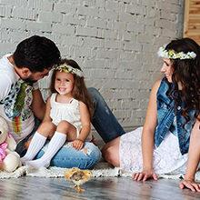 Полезные советы для семейной фотосессии в студии
