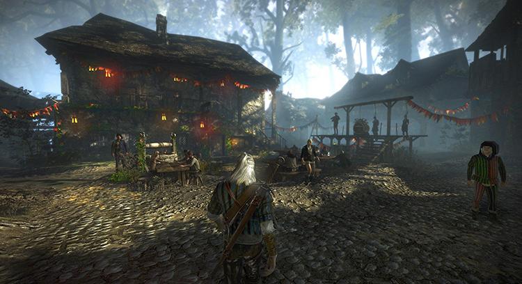 Прохождение игры Ведьмак 2