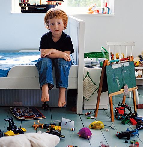 Ребенок в комнате