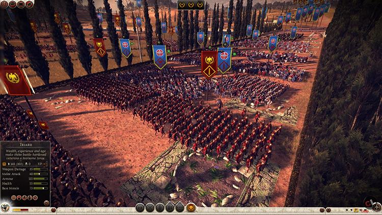 Армия в игре Total War: Rome II