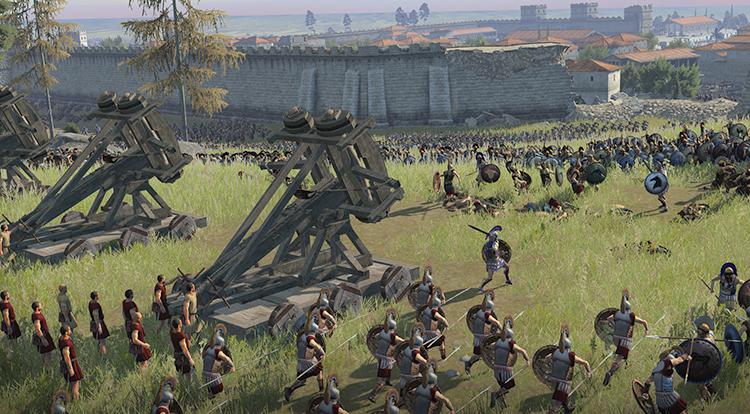 Сражение в Total War: Rome II