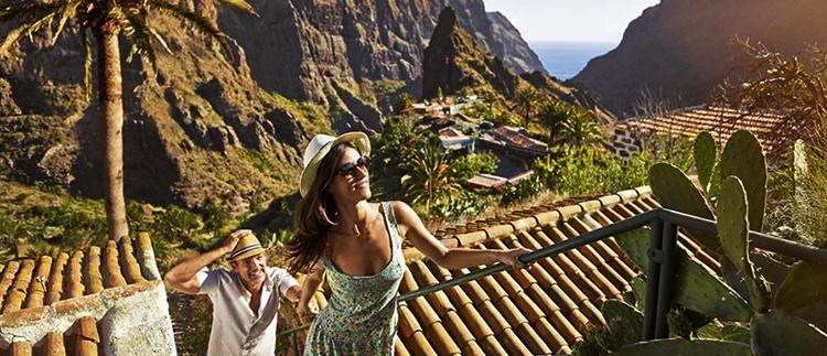 Туристы на Тенерифе