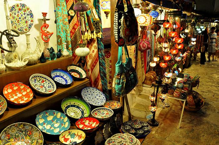 Турецкая сувенирная лавка