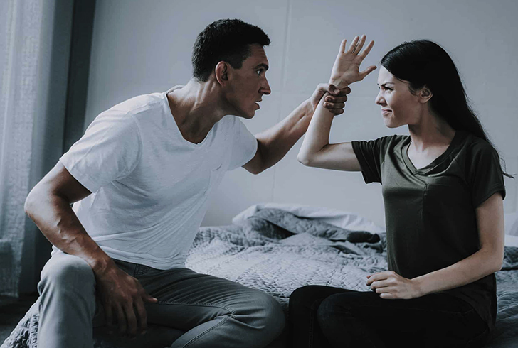Борьба мужчина и женщины