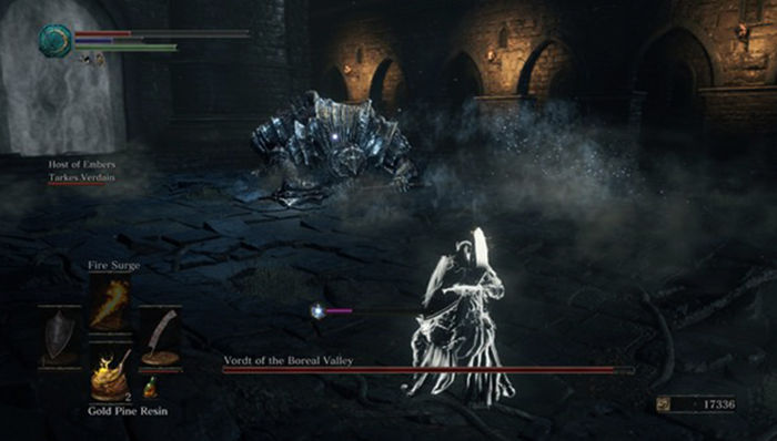 Игра в Dark Souls 3