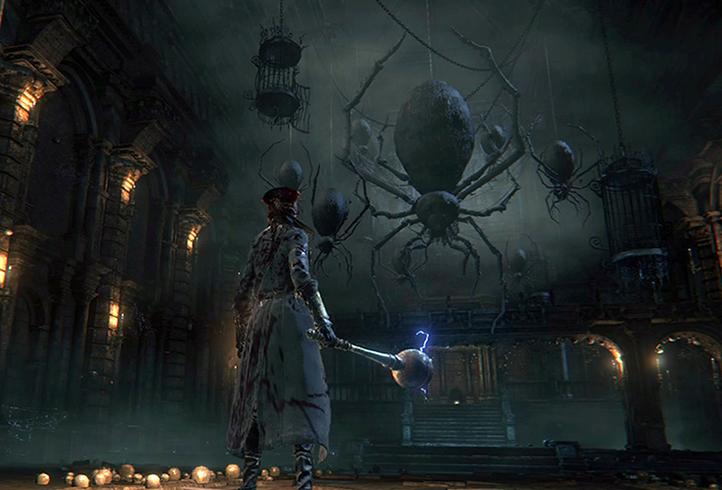 Игра в Bloodborne