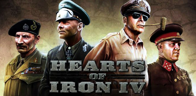 Игра Hearts of Iron IV