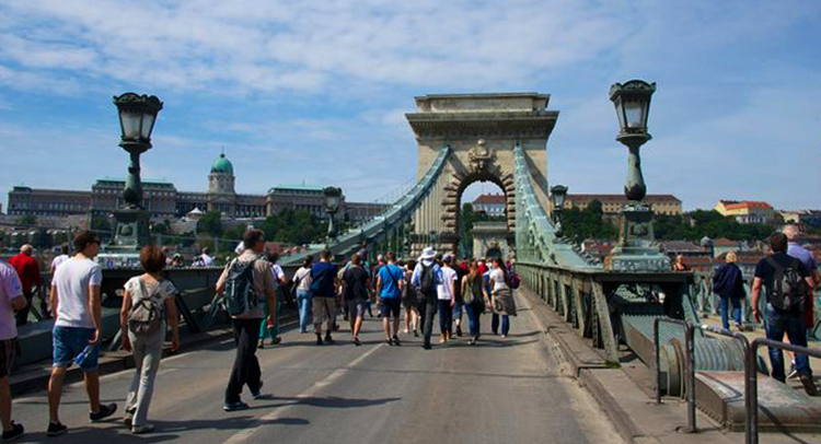 Красивый Будапешт