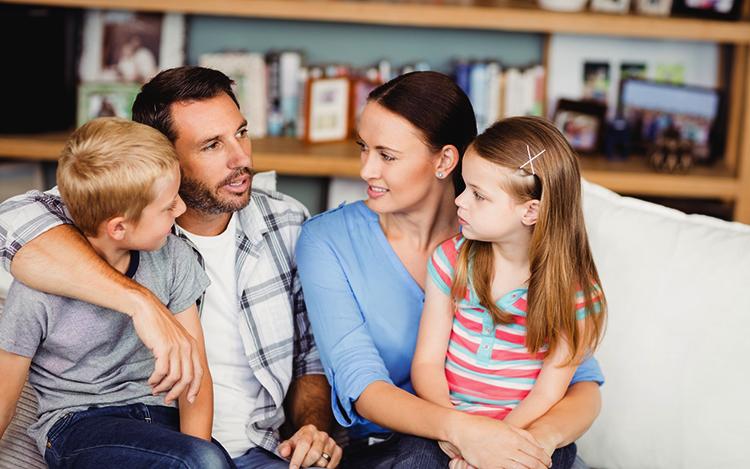 Общение в семье