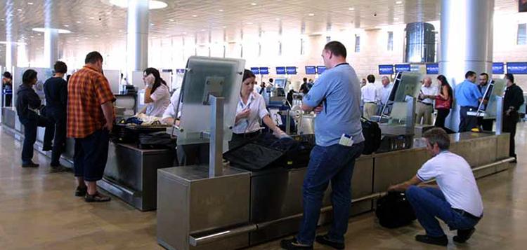 Проверка в аэропорту Израиля