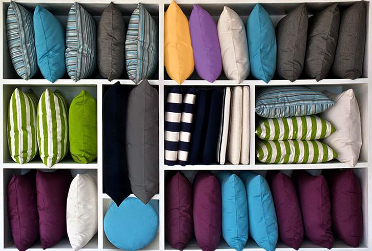 Разные формы подушек
