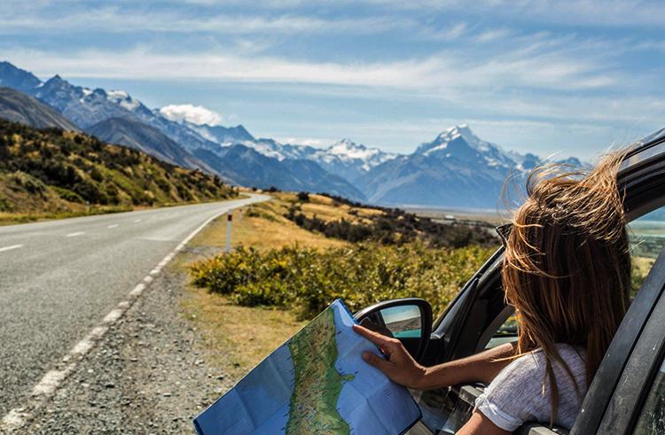 Поездка на автомобиле в Европу