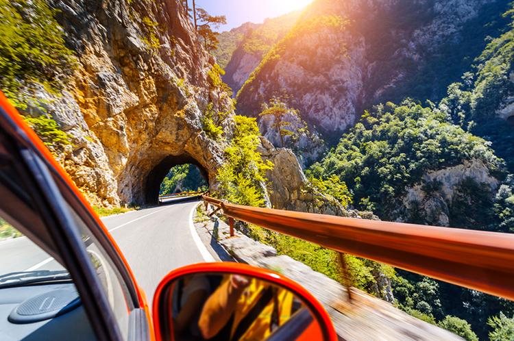Поездка на автомобиле через Европу