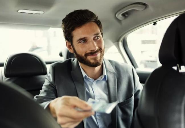 Оплата в такси