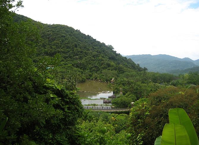Тропический парк Янода
