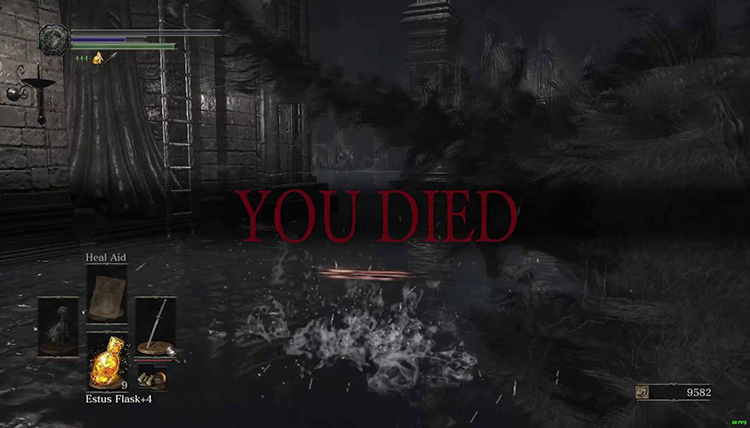 «YOU DIED»