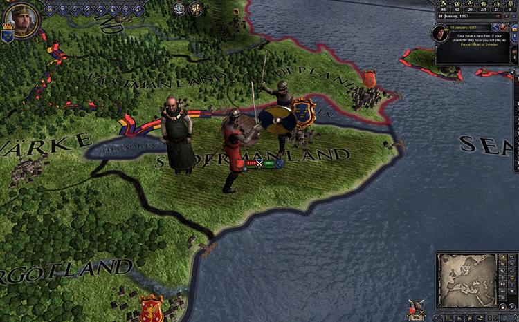 Игра в Crusader Kings 2
