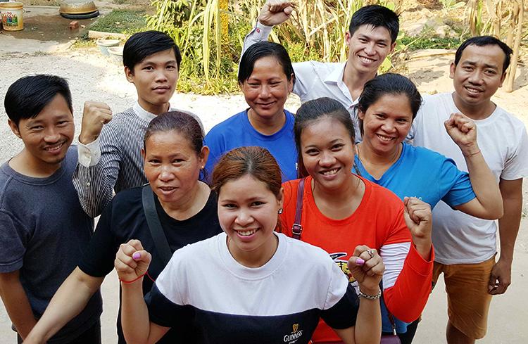 Люди в Камбодже