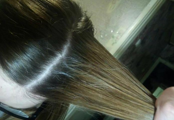 Перекись водорода для волос