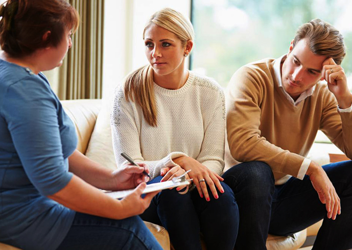 У семейного психолога