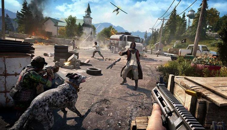 Стрельба в Far Cry 4