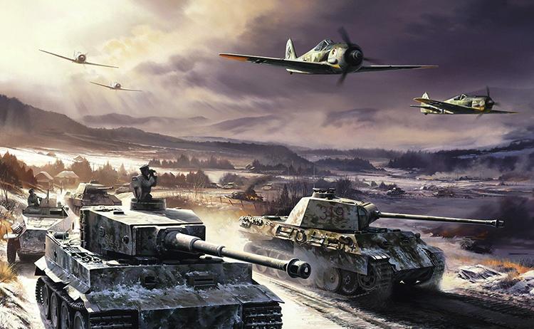 Танки и самолеты в игре War Thunder