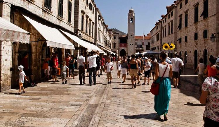 Улица в Хорватии