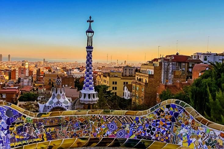 Красивая Барселона