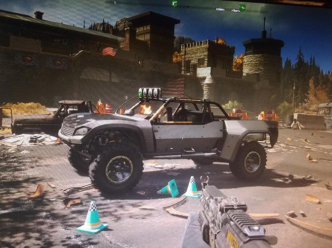 Автомобиль в Far Cry 5