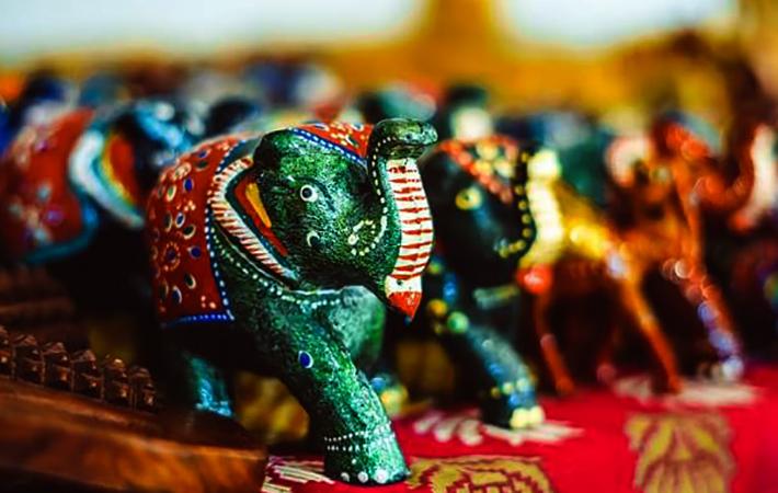 Сувениры-слоны в Шри Ланке