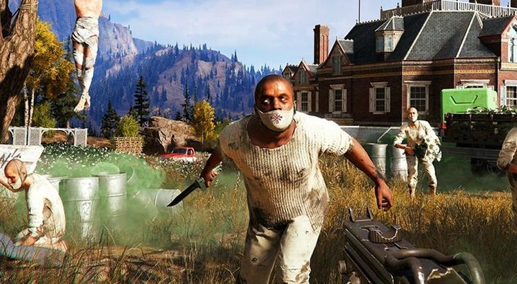 Игра в Far Cry 5