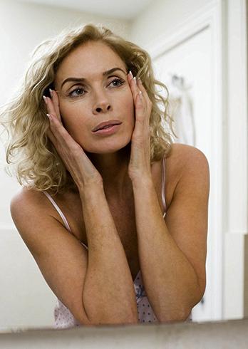 Женщина в 45 лет