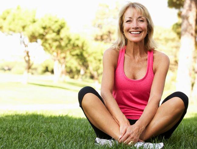 Здоровая женщина после 45