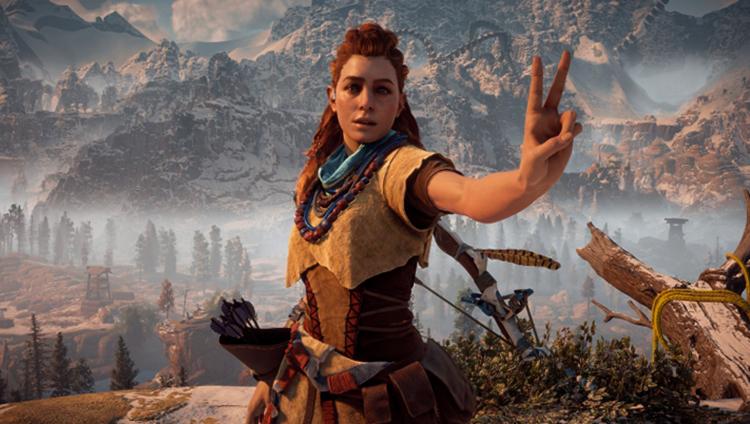 Кадр из игры Horizon Zero Dawn
