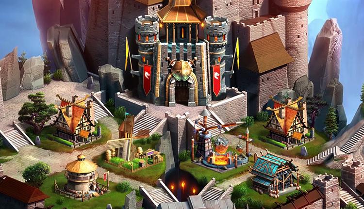 Крепость в игре Empires & Puzzles