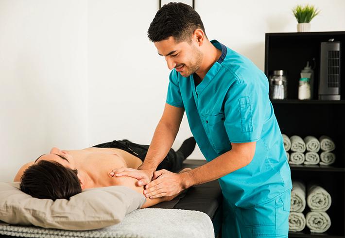 Профессиональный массаж