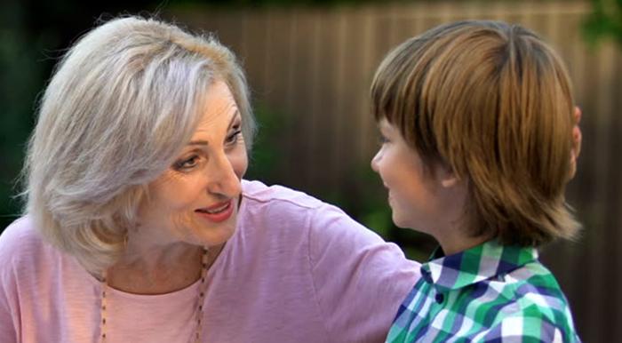 Свекровь и внук